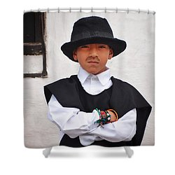 Espiritu De Colombia Shower Curtain by Skip Hunt