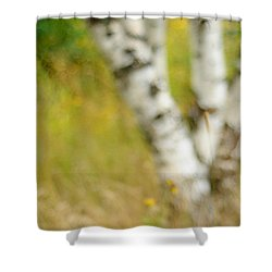 Essential. Summer Time. Impressionism  Shower Curtain by Jenny Rainbow
