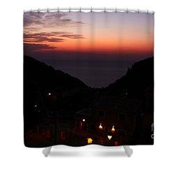 Estellencs View Shower Curtain