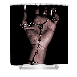 Eternal Struggle Shower Curtain