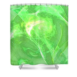 Shower Curtain featuring the digital art Ethereal by Kim Sy Ok