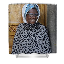 Ethiopia-south Orthodox Christian Woman Shower Curtain