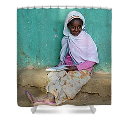 Ethiopia-south School Girl Shower Curtain