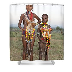 Ethiopia-south Sisters Shower Curtain