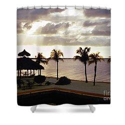 Evening In The Keys - Key Largo Shower Curtain