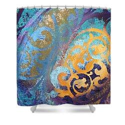 Evening Light Shower Curtain by Reina Cottier
