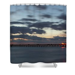 Evening Magic Shower Curtain by Nick  Shirghio
