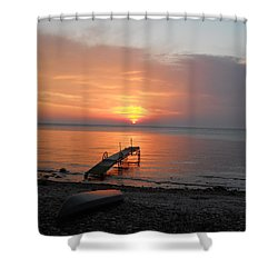 Evening Rest Shower Curtain