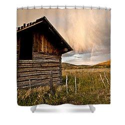 Evening Storm Shower Curtain by Jeffrey Kolker