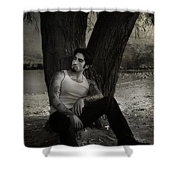 Everybody Needs A Little Time Away Shower Curtain by Laurie Search