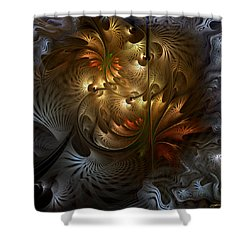 Evocation Shower Curtain by Casey Kotas