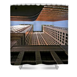 Exchange Canyon Shower Curtain