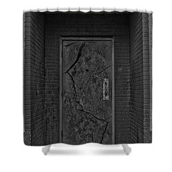 Exit Shower Curtain by Jerry Cordeiro