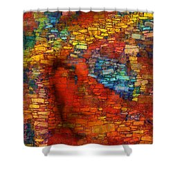 Extrusion Shower Curtain by RochVanh