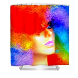 Shower Curtain featuring the photograph Eye Of The Rainbow by John King
