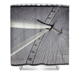 Eye On London Shower Curtain