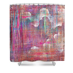 Fabric Of A Dream Shower Curtain by Rachel Christine Nowicki