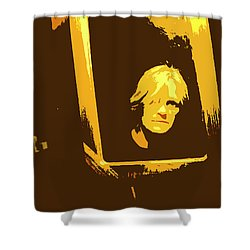Face In The Mirror Shower Curtain