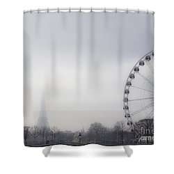 Shower Curtain featuring the photograph Fading Away by Victoria Harrington