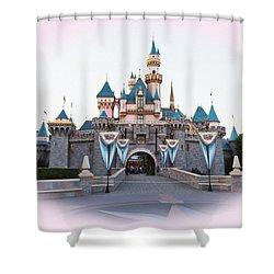 Fairytale Castle Shower Curtain by Heidi Smith