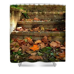 Shower Curtain featuring the photograph Fall by Brian Hughes