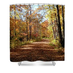 Shower Curtain featuring the photograph Fall Coming On by Paul Mashburn