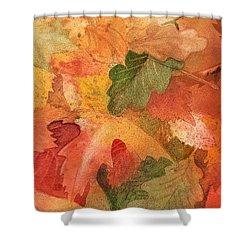 Fall Impressions II Shower Curtain by Irina Sztukowski