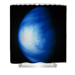 False Colour Image Of Venus Sulphuric Shower Curtain by NASA / Science Source