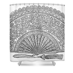 Fan, 1876 Shower Curtain by Granger