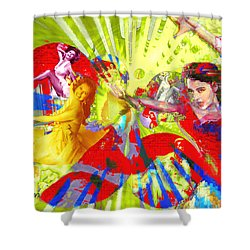 Fandango Shower Curtain by Seth Weaver