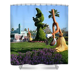 Fantasia In Flowers Shower Curtain