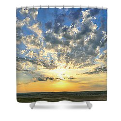 Shower Curtain featuring the photograph Fantastic Voyage by Brian Duram