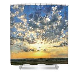 Fantastic Voyage Shower Curtain by Brian Duram