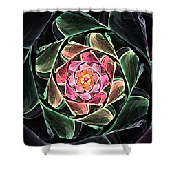 Fantasy Floral Expression 111311 Shower Curtain by David Lane