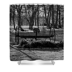 Farm Antique Shower Curtain by Karen Harrison