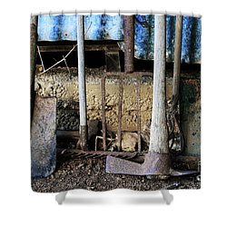 Farm Tool Shower Curtain