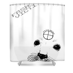 Fashion Victim Shower Curtain