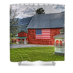 Feeling Patriotic Shower Curtain