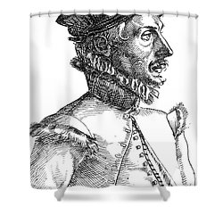 Felix Plater, Swiss Physician Shower Curtain by Science Source