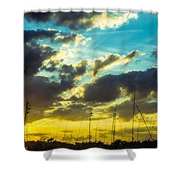 Shower Curtain featuring the photograph Fernandina Beach by Shannon Harrington