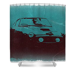 Ferrari 250 Gtb Shower Curtain by Naxart Studio