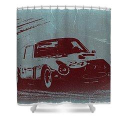 Ferrari Gto Shower Curtain by Naxart Studio