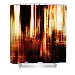 Fever Shower Curtain by Andrew Paranavitana