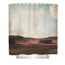 Fields Of Heather Shower Curtain