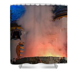 Fiery Entrance Shower Curtain