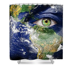 Fight For A Better World  Shower Curtain by Semmick Photo