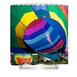 Filler Up Shower Curtain