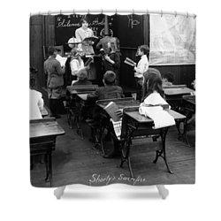 Film Still: Classroom Shower Curtain by Granger