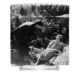 Film: Sunrise, 1927 Shower Curtain by Granger