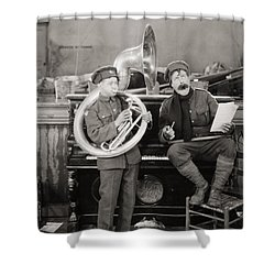Film: The Better Ole, 1926 Shower Curtain by Granger